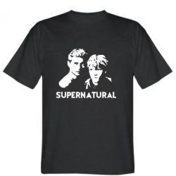 Мужская футболка Братья Винчестеры Сверхъестественное - FatLine