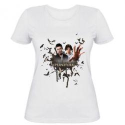 Женская футболка Братья - FatLine