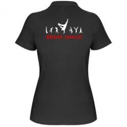 Женская футболка поло Break Dance - FatLine