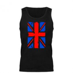 Мужская майка Британский флаг - FatLine