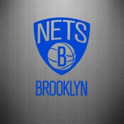 Наклейка Brooklyn Nets