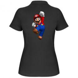 Женская футболка поло Brother Mario - FatLine
