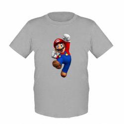 Детская футболка Brother Mario - FatLine