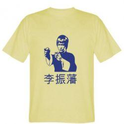 Мужская футболка Брюс лі - FatLine