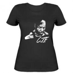 Женская футболка C.T.F. - FatLine