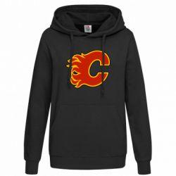 Женская толстовка Calgary Flames - FatLine