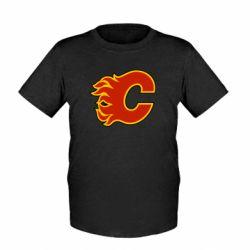 Детская футболка Calgary Flames - FatLine