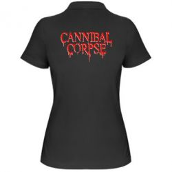 Женская футболка поло Cannibal Corpse - FatLine