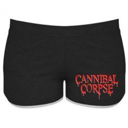 Женские шорты Cannibal Corpse - FatLine