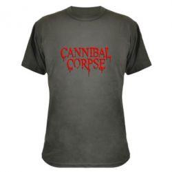 Камуфляжная футболка Cannibal Corpse - FatLine
