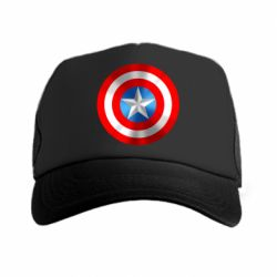 Кепка-тракер Captain America 3D Shield - FatLine