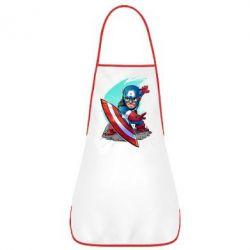 Фартук Cartoon Captain America - FatLine