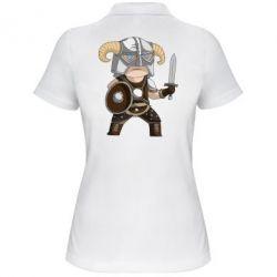 Женская футболка поло Cartoon Dragonborn