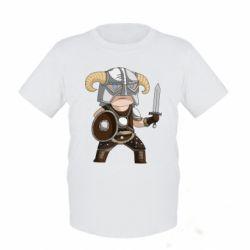 Детская футболка Cartoon Dragonborn