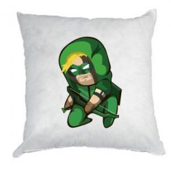 Подушка Cartoon Green Arrow