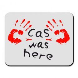 Коврик для мыши Cas was here - FatLine