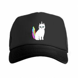 Кепка-тракер Cat Unicorn
