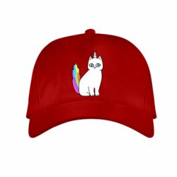 Детская кепка Cat Unicorn