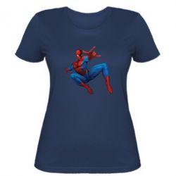 Женская футболка Человек Паук - FatLine