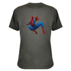 Камуфляжная футболка Человек Паук