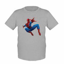 Детская футболка Человек Паук - FatLine