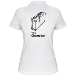 Женская футболка поло Чемодан Logo - FatLine