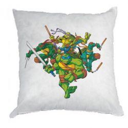 Подушка Черепашки-ниндзя - FatLine