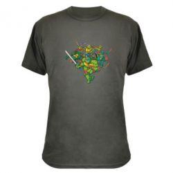 Камуфляжная футболка Черепашки-ниндзя - FatLine