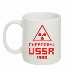 Кружка 320ml Chernobyl USSR - FatLine