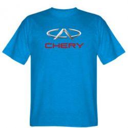 Мужская футболка Chery Logo - FatLine