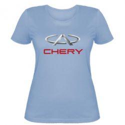 Женская футболка Chery Logo - FatLine