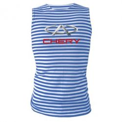 Майка-тельняшка Chery Logo - FatLine