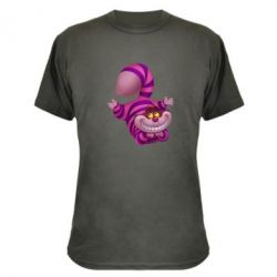 Камуфляжная футболка Чеширский кот - FatLine