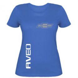 Женская футболка Chevrolet Aveo - FatLine