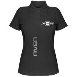 Женская футболка поло Chevrolet Aveo - FatLine
