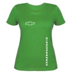Женская футболка Chevrolet Camaro - FatLine