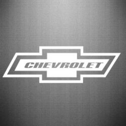 Наклейка Chevrolet Log - FatLine