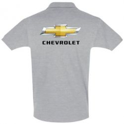 Футболка Поло Chevrolet Logo - FatLine