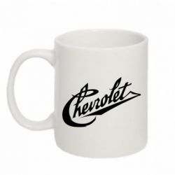 Кружка 320ml Chevrolet Old Logo - FatLine