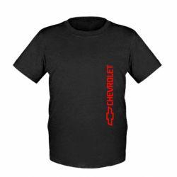 Детская футболка Chevrolet  Vert - FatLine