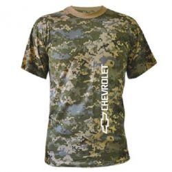 Камуфляжная футболка Chevrolet  Vert - FatLine