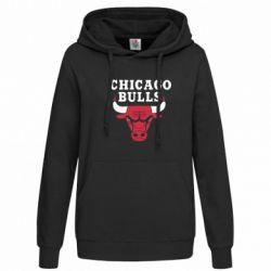 Женская толстовка Chicago Bulls Classic - FatLine
