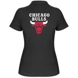 Женская футболка поло Chicago Bulls Classic - FatLine