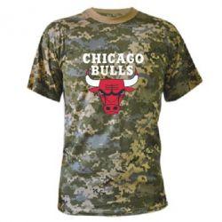 Камуфляжная футболка Chicago Bulls Classic - FatLine