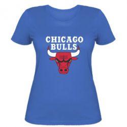 Женская футболка Chicago Bulls Classic - FatLine