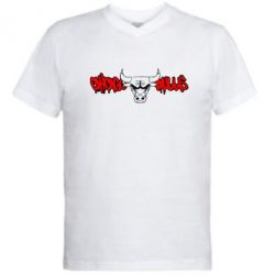 ������� ��������  � V-�������� ������� Chicago Bulls Graffity - FatLine