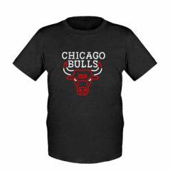 Детская футболка Chicago Bulls Logo - FatLine