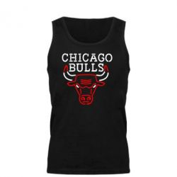 Мужская майка Chicago Bulls Logo - FatLine