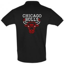 Футболка Поло Chicago Bulls Logo - FatLine