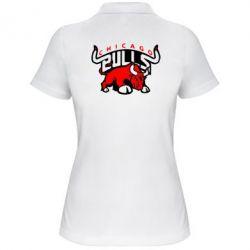 Женская футболка поло Чикаго Буллз - FatLine